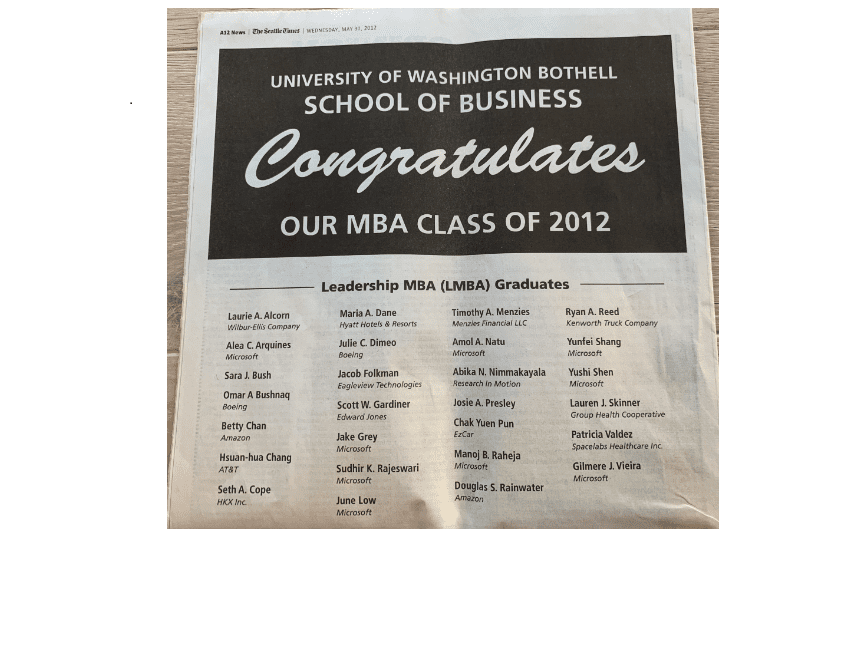 Leadership MBA – Done!